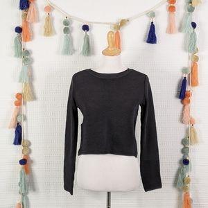 Zara Knit Cropped Top